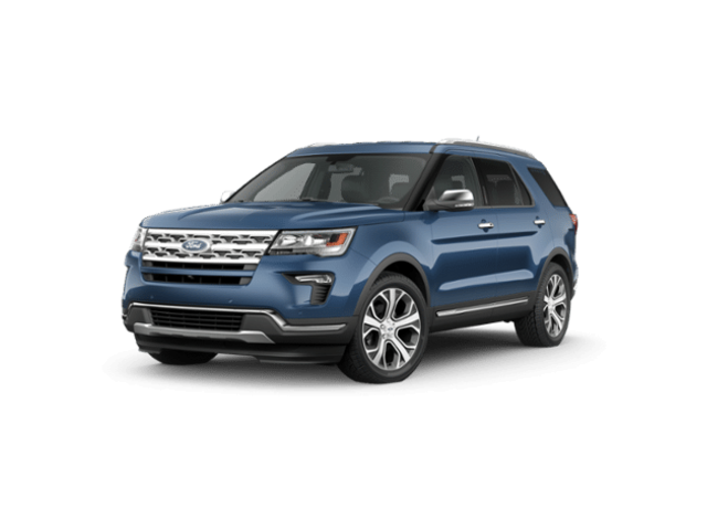 New 2019 Ford Explorer Limited SUV in Jamestown, NY